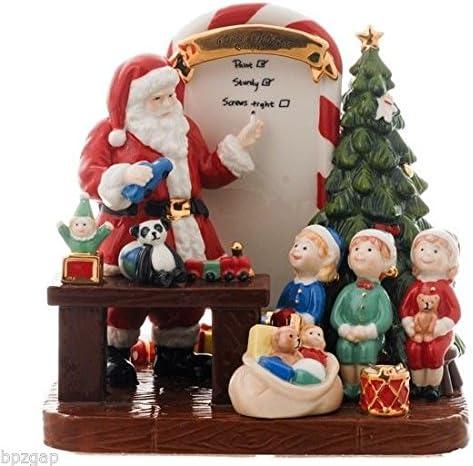 Royal Doulton 2011 Holiday Traditions Santa s Toy Testing