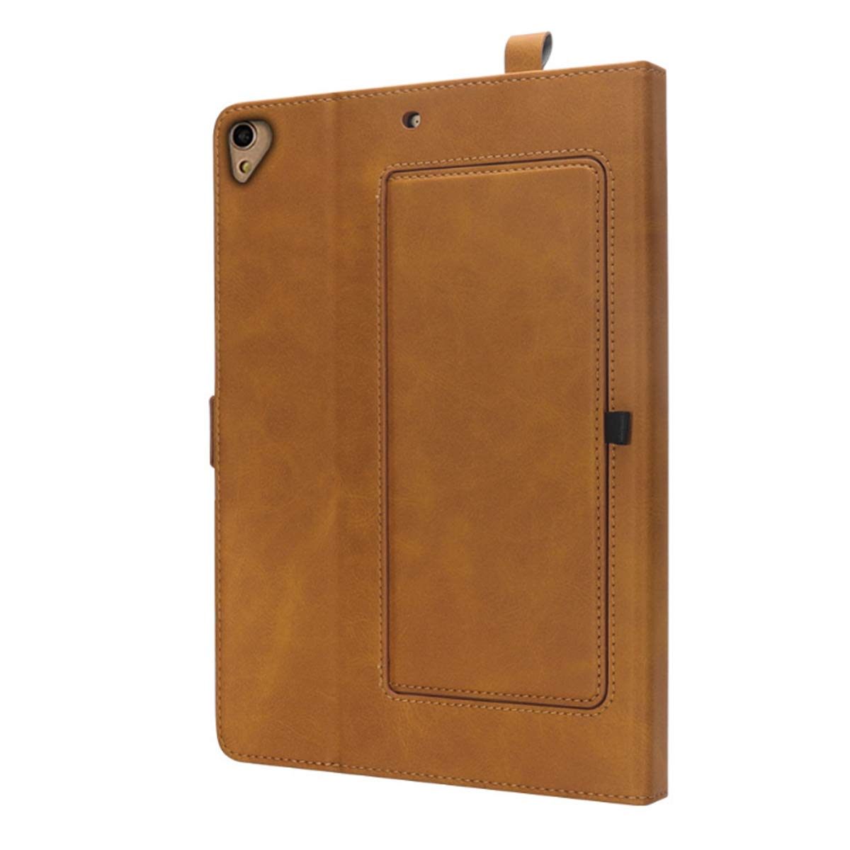 iPad 6th Generation Cases with Pencil Holder, Premium PU Leather Folio Case Soft TPU Back Protective Stand Cover with Card Slots for iPad 9.7 Inch 2018 (6th Gen) / iPad 9.7'' 2017 (5th Gen) –Khaki by KATEGY (Image #9)