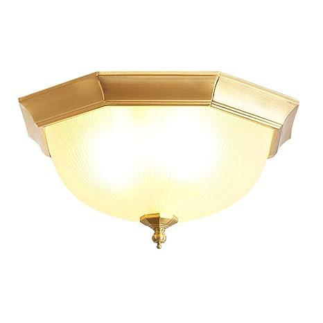 Amazon.com: CCSUN - Lámparas de techo modernas de cobre para ...