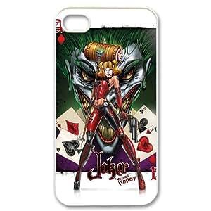 Classic Case Joker Harley Quinn pattern design For Apple iPhone 4,4S Phone Case