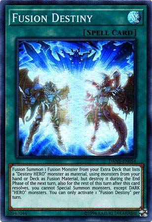 Yu-Gi-Oh! - Fusion Destiny - DANE-EN054 - Super Rare - Unlimited Edition - Dark Neostorm (Fusion Cards Oh Gi Yu Card)
