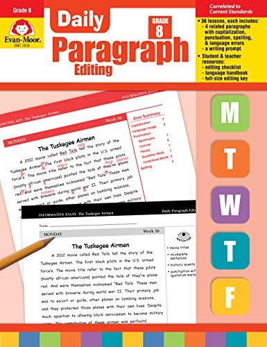 Evan-Moor Daily Paragraph Editing, Grade 8