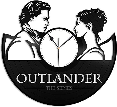 home office decor ideas.htm amazon com zhangxin outlander vinyl wall clock gift for men women  zhangxin outlander vinyl wall clock