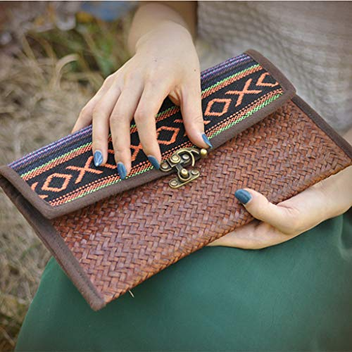 de Femme Coton perfk Cadeau à Fait Tissu en Main Main Thaïlande Sac en SxxUgtT