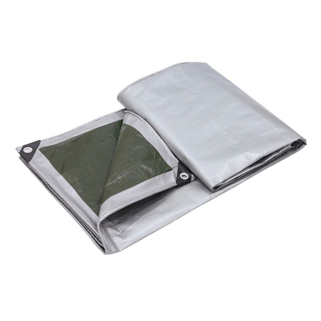 Zeltplanen Verdicken Sie Plane Windproof Rainboard Sonnencreme Zelt Stecker Markise Sonnenblende Grün 2 Mt × 3 Mt - Multi-Größe-Optionen (größe   4M×4M)