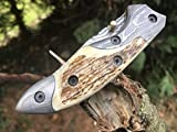 Perkin – Handmade Damascus Pocket Knife – Beautiful Folding Knife Review