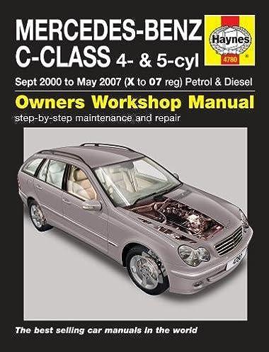 mercedes benz c class haynes publishing 9780857339539 amazon com rh amazon com mercedes c-class workshop manual mercedes c-class workshop manual