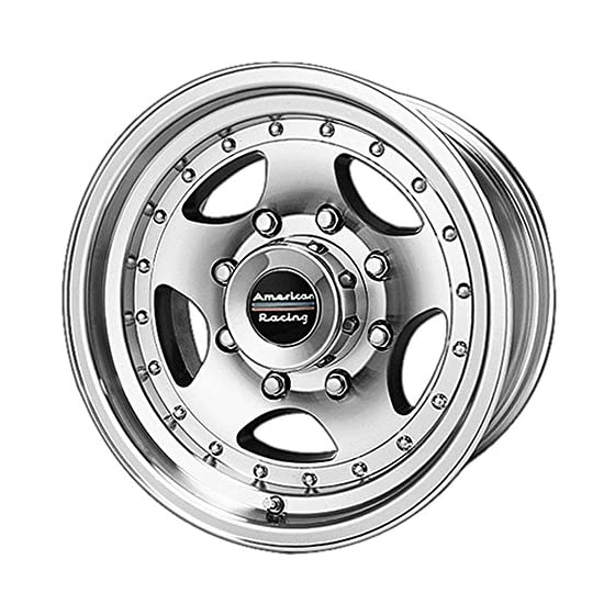American Racing Custom Wheels AR23 Machined Wheel With Clearcoat (14×7″/5×114.3mm, -6mm offset)