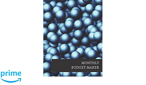 Monthly Budget Maker Journals For All 9781520850559 Books