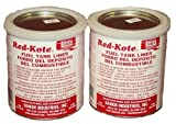 Two Quarts Red Kote Coat Gas Fuel Tank Sealer Liner Gas Oil Diesel