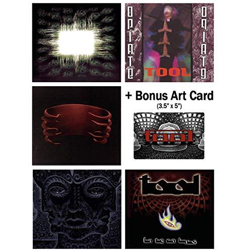 (Tool: Complete Studio Album CD Collection with Bonus Art Card)