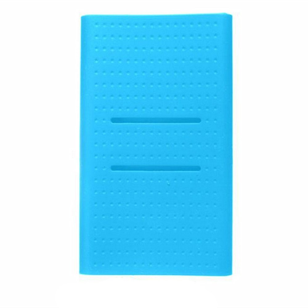 HP95(TM) 20000mAh Power Bank Silicone Soft Battery Protector Case Cover Sleeve for Xiaomi 2 (Blue)