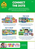 School Zone - Connect the Dots Workbook - Ages 3 to 5, Preschool to Kindergarten, Dot-to-Dots, Counting, Number Puzzles, Numbers 1-10, Coloring, and More