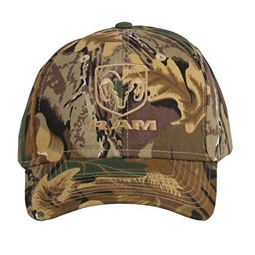 - Dodge Ram Camo Twill Hat