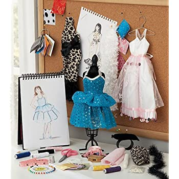 Fashion Design Studio Kit 30 Pieces Toys Games