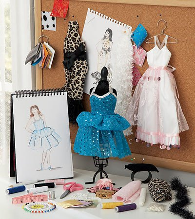 Fashion Design Studio Kit, 30-Pieces ()
