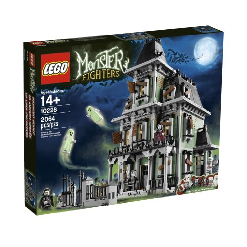 - LEGO Monster Fighters Haunted House 10228