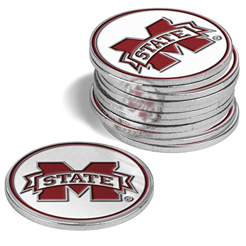 NCAA Mississippi State Bulldogs - 12 Pack Ball Markers