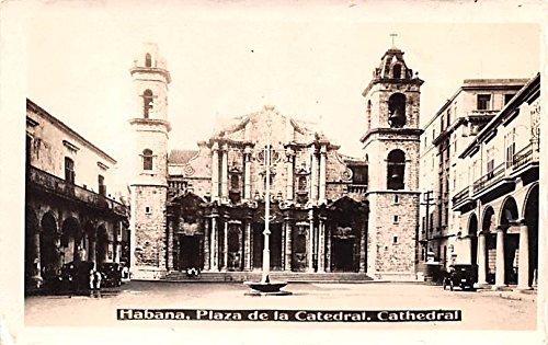 Plaza de la Catedral, Cathedral Habana Cuba, Republica de Cuba Postcard