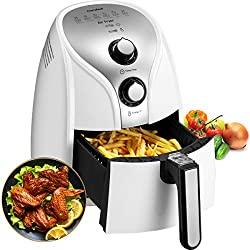 COMFEE' MF-TN2501-White MFTN-2501W Air Fryer, 2.6Qt, 01.White