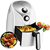 Comfee 1500W Multi Function Electric Hot Air Fryer with 2.6 Qt. Removable Dishwasher Safe Basket