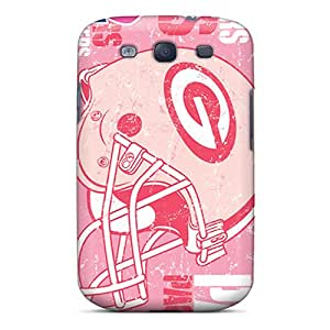 RAS1906nGQI Yycases Awesome Case Cover Compatible With Galaxy S3 - Green Bay Packers