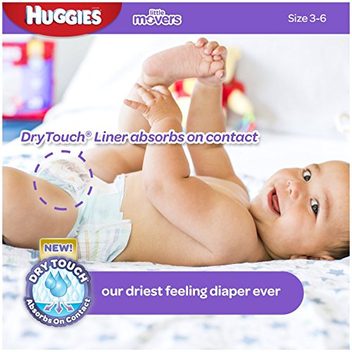 Huggies Little Movers Diapers - Size 4 - 24 ct