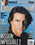 Entertainment Weekly Magazine - June 2, 2000 - Tom Cruise (Mission: Impossible 2) - The X-Files