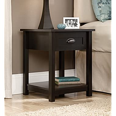 Sauder Furniture County Line Collection Estate Black Night Stand | 416744