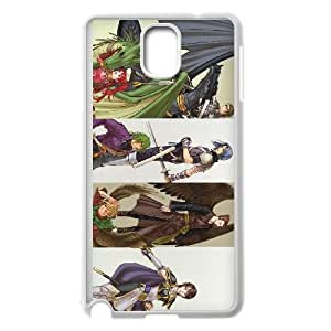 Samsung Galaxy Note 3 Cell Phone Case White Fire Emblem The Sacred Stones SU4496209