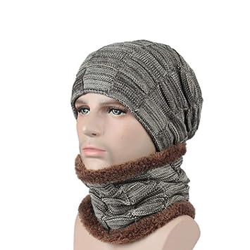 ZMYLOVE Sombrero de Hombre y Mujer Invierno, Piel sintética ...