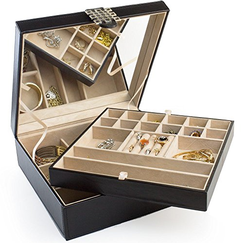 28 Section Classic Jewelry Organizer