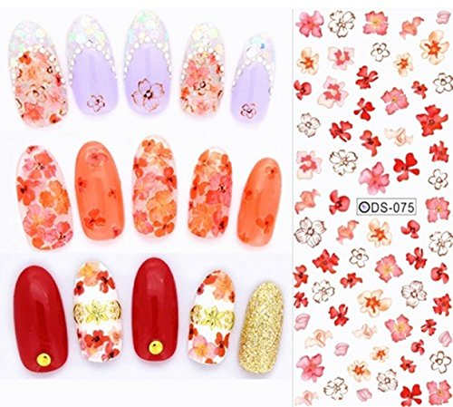 1 Pack Colorful Butterfly Nail Art Sticker Fingernails Watermark Water Transfer Nails Wrap Paint Tattoos Stamping Plates Templates Tools Tips Kits Heavenly Popular Tool Vinyls Decals Kit, Type-11