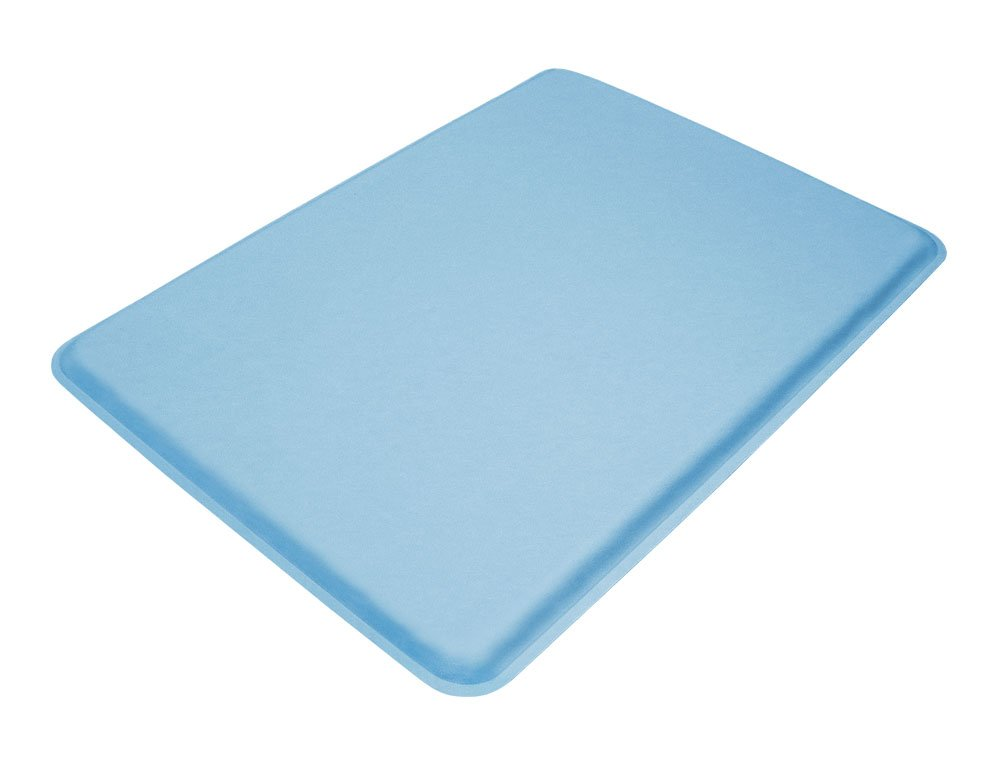 GelPro Medical Anti-Fatigue Gel Comfort Mat, 18 by 24-Inch, Columbia Blue
