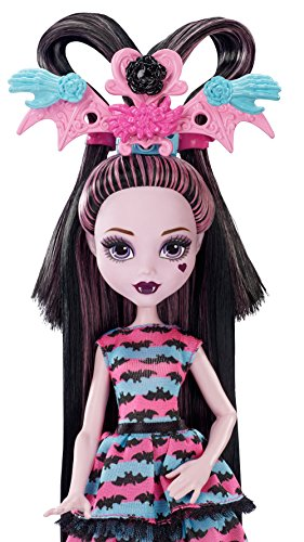 Monster High Girls Party Hair Draculaura Doll