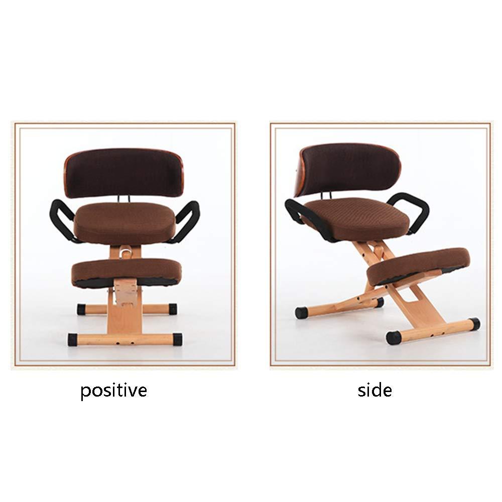 - JUN GAUNG Knee Chair Ergonomic Posture Desk Stool For Back