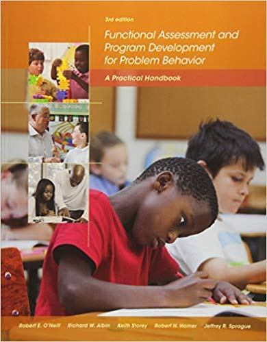 [1285734823] [9781285734828] Functional Assessment and Program Development for Problem Behavior: A Practical Handbook 3rd Edition-Paperback