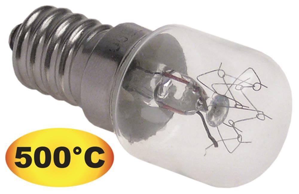 Ampoule 15W température Max. 500°C E14235V pour four Gastroteileshop