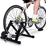 Bike Trainer Stand - Sportneer Steel Bicycle Exercise Magnetic Stand with Noise Reduction