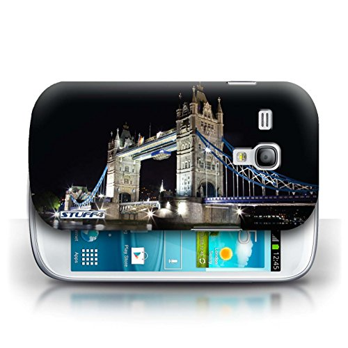 Etui / Coque pour Samsung Galaxy S3 Mini / Tower Bridge conception / Collection de Londres Angleterre