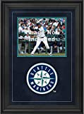 """Sports Memorabilia Seattle Mariners Deluxe 8"""" x 10"""" Horizontal Photograph Frame with Team Logo - Baseball Other Display Cases"""