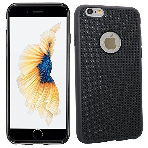 Schutzhülle Armor Case Hülle für Apple iPhone 6 / 6S Schwarz super flexibel Design Schutzhülle Cover - Panelize