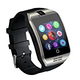 FATMOON Bluetooth Smart Watch Cell Phone,SIM 2G GSM With Camera,SIM GSM, Support Sleep Monitor,Push Message,Anti lost etc
