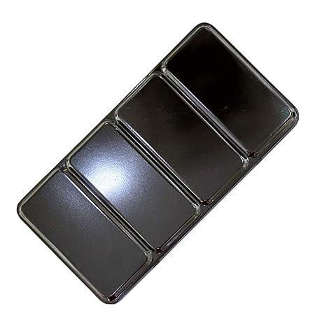 SUPVOX - Caja para Acuarela vacía, Caja de Metal para Acuarelas ...