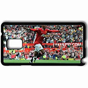 Personalized Samsung Note 4 Cell phone Case/Cover Skin Ashley Young Manchester United Celebration Of A Goal Black
