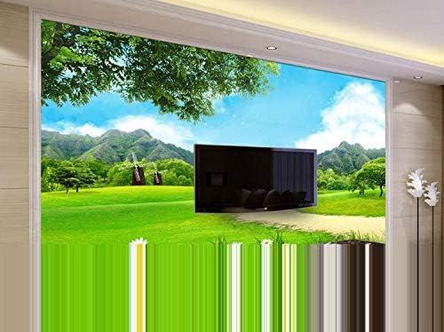 WYJ0734 El significado de la montaña es cielo azul, nubes blancas, hierba verde, naturaleza, cielo azul, paisaje de pared de fondo WYJ0 Papel tapiz no tejido Papel tapiz 3D Decoración-430cm×300cm: Amazon.es: Bricolaje
