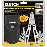 Klutch Electrician's Multi-Tool with Pouch, Outdoor Stuffs