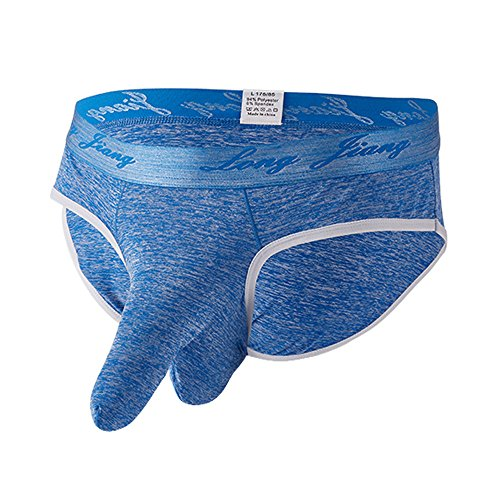 Yamally Boxer Briefs for Men Underwear Soft Underpants Knickers Shorts Solid Color Mens Sexy Panties