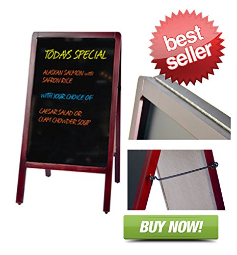 Signworld Double Side Sidewalk A Frame marker board ()