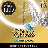 エコデバイス 40型LEDサークル管 アースシリーズ丸形LED蛍光灯 ホワイト EFCL40LED-ES/28N